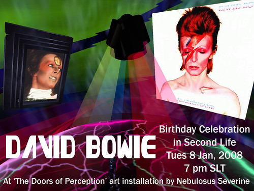 David Bowie Birthday event 2008