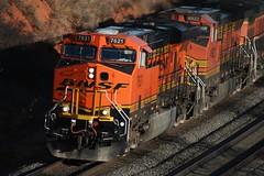 BNSF 7621 - explore (Marvin Bredel) Tags: railroad orange oklahoma train explore marvin bnsf freighttrain quinlan burlingtonnorthernsantafe es44dc gevo top20rrpix interestingness342 i500 bnsf7621 curtishill marvin908 bredel marvinbredel