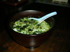 20080110 006 (DiscoWeasel) Tags: food green japan breakfast rice tea instant wasabi nori genmai