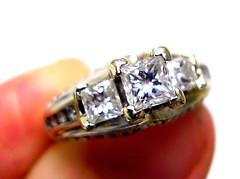 Forever (AlaskaTeacher) Tags: ring diamond jewelry forever sparkle weddingring engagementring wedding engagement shiny precious gold whitegold white silver preciousmetal valuable upclose closeup pictureaday 365