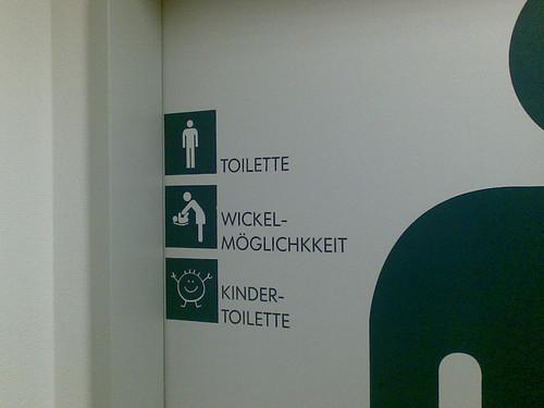 Männertoilette bei IKEA