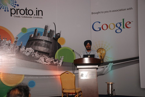 Jaspreet Presenting