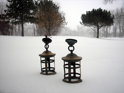 lamps in snow good