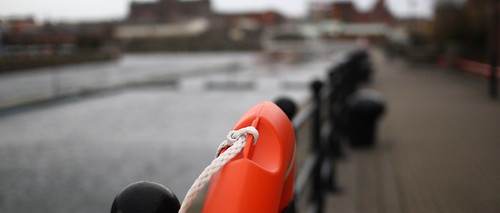 Life Ring in Albert Dock