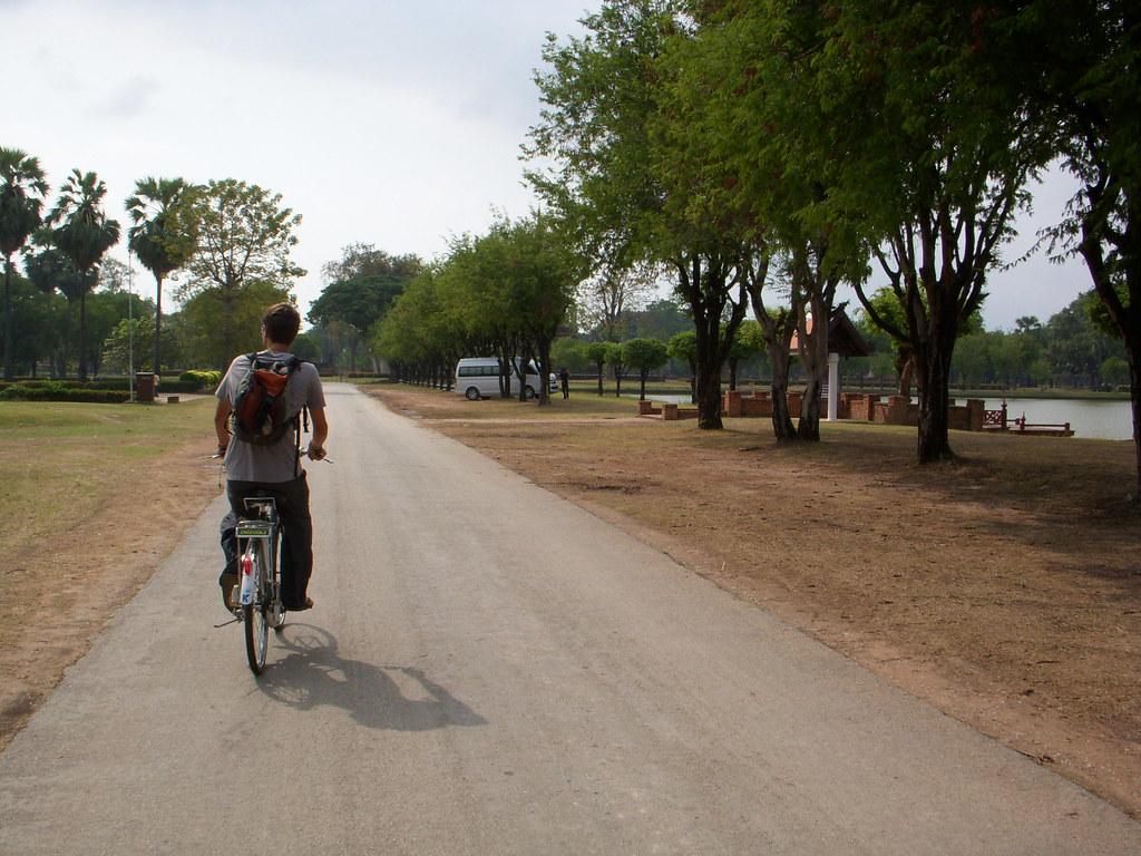 bicicleando...