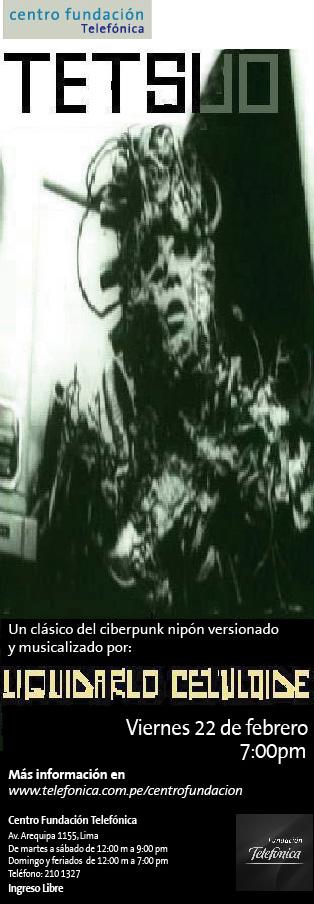 Afiche Tetsuo