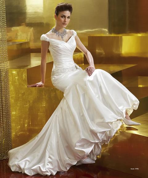 Trajes de novia baratos-996A
