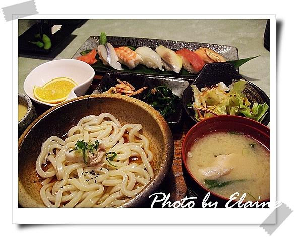 握壽司定食