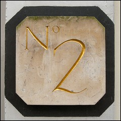 """""""2"""" (Lincolnian (Brian) - BUSY, in and out) Tags: 2 england house lincolnshire number lincoln abc"""