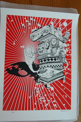 The Krah Screenprint