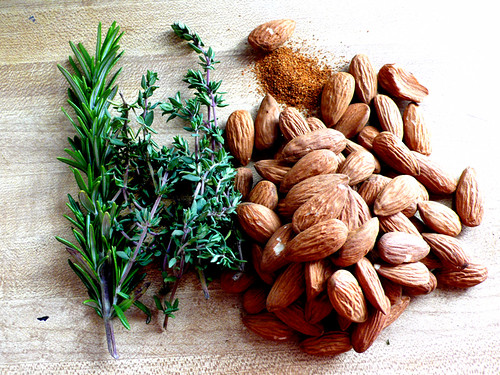 spiced almonds ingredients