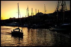 Mare Nostrum #13 - Peter's (RiCArdO JorGe FidALGo) Tags: sunset portugal water gua boat barco sailing lisboa sony prdosol sail veleiro velejar dsch2 fidalgo72 ricardofidalgo docaalcntara ricardofidalgoakafidalgo72