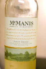 2006 McManis Family Vineyards Pinot Grigio