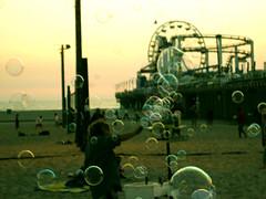 the lord of the balls (manlio_k) Tags: santa beach los soap angeles dusk balls monica manlio castagna manliocastagna manliok