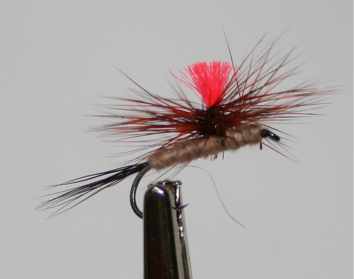 March Brown Parachute