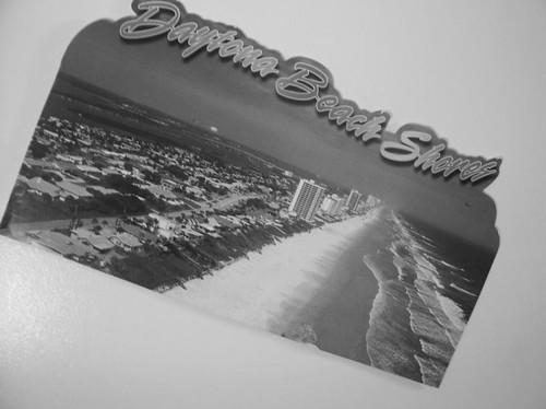 80/365 - Greetings from Daytona Beach.