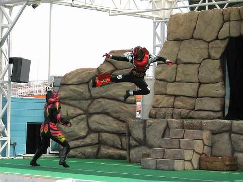 よみうりランド 仮面ライダーキバショー 2008 Mar 29