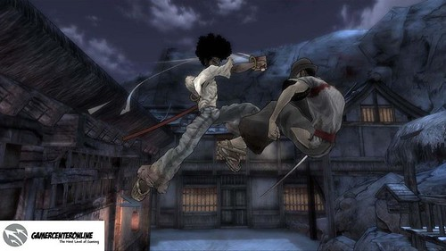 2419492344 b04b527055 First Afro Samurai Screenshots