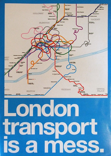 London Transport is a mess leaflet taken by The Londoneer