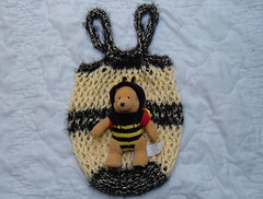 Bee Market Bag Pooh Bee bear