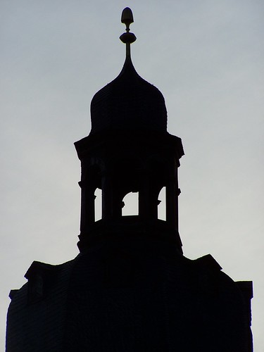 Bell tower silhouette