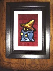 Black+Mage+Needlework (ghosts_in_towers) Tags: crossstitch needlework stitch crafts nintendo craft videogames needlepoint sega videogame nes finalfantasy mage locke moogle snes needlecraft kefka chrono blackmage fancraft