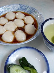 納豆餅@肘折温泉