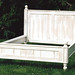 Queen Size Painted Cottage Bed