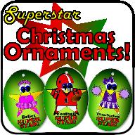 superstar christmas ornaments thumbnail