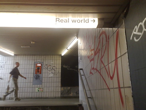 Real World by minimalniemand, on Flickr