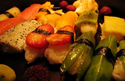 Sushi, weirdest range