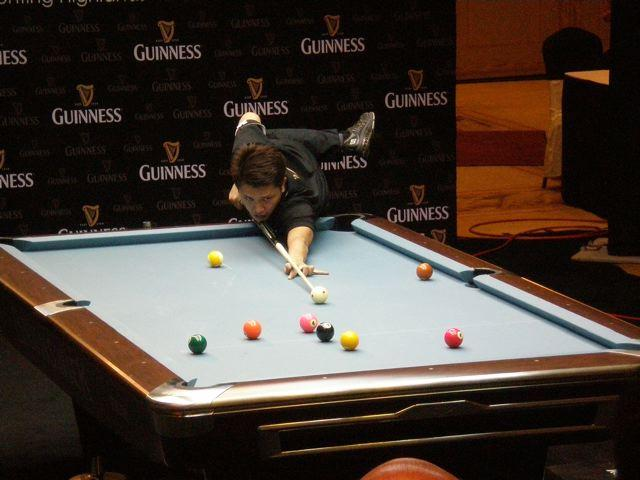 Fireangelism Guinness Ball Tour Genting - Guinness pool table