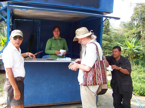 Ticket Booth at Preah Vihear