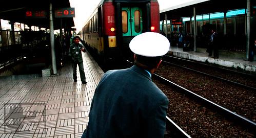 Station Agent, Ain-Sebaa, Morocco