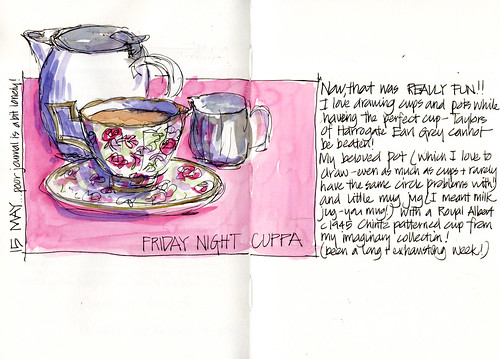 090515 Friday night cuppa