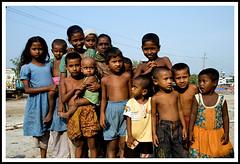 Village Kids (Tipu Kibria~~BUSY~~) Tags: girls boy people cute boys girl kids canon children eos kid village child innocent lifestyle villagekids canonefs1785mmisusm xti 400d