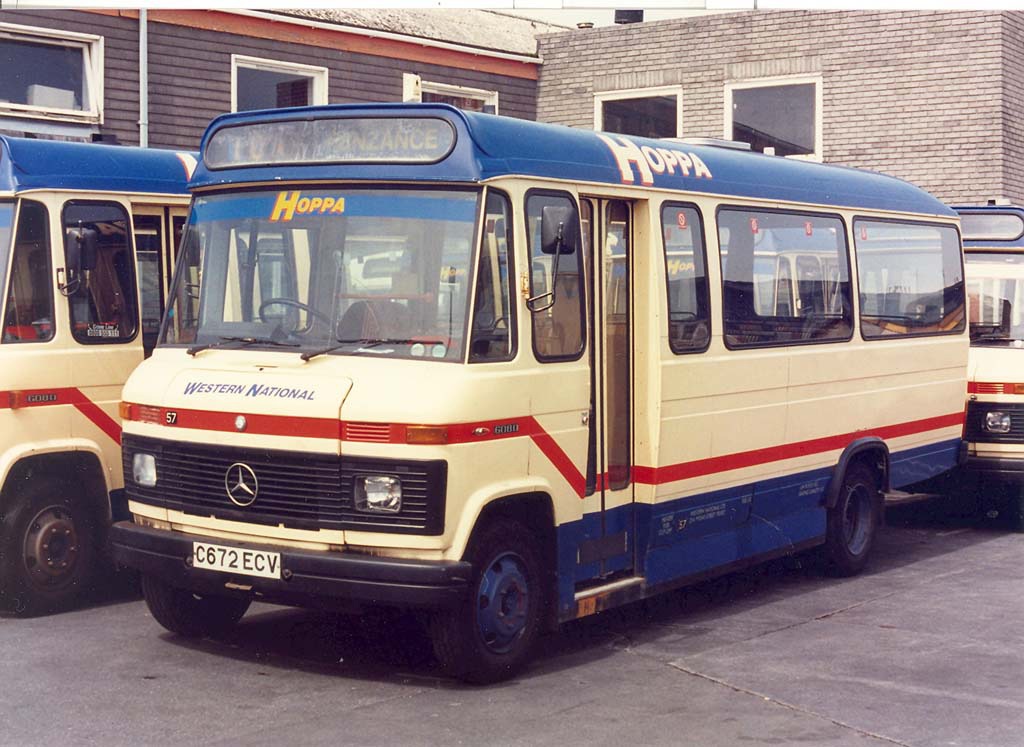 Western National 57 C672ECV