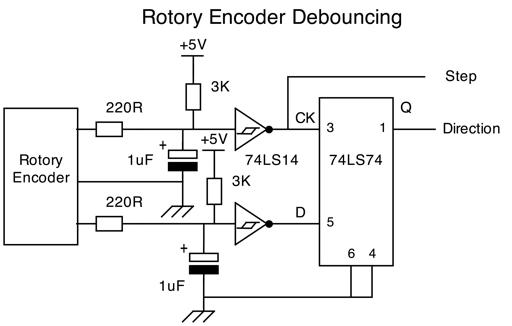 rotary encoder woes rh forum arduino cc rotary encoder circuit diagram Quadrature Encoder Wiring