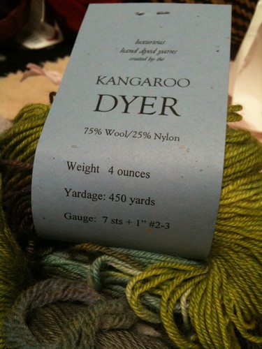 Kangeroo Dyer exclusively for Valley Yarns
