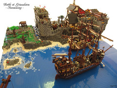 berblick 1 (THE BRICK TIME Team) Tags: brick lego pirate fleet siege nautic legocastle