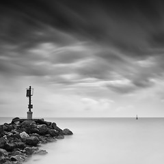 _I i (DavidFrutos) Tags: longexposure bw costa seascape beach water monochrome rock clouds landscape monocromo coast agua rocks waves smooth silk wave playa paisaje bn minimal murcia filter le lee nubes nd minimalism filters minimalismo canondslr olas roca rocas ola waterscape filtro largaexposicin filtros gnd neutraldensity portmn canon1740mm nd110 flickraward densidadneutra davidfrutos spiritofphotography 5dmarkii niksilverefexpro bigstopper redmatrix flickraward5 singhraygalenrowellnd3ss leebigstopper flickrawardgallery