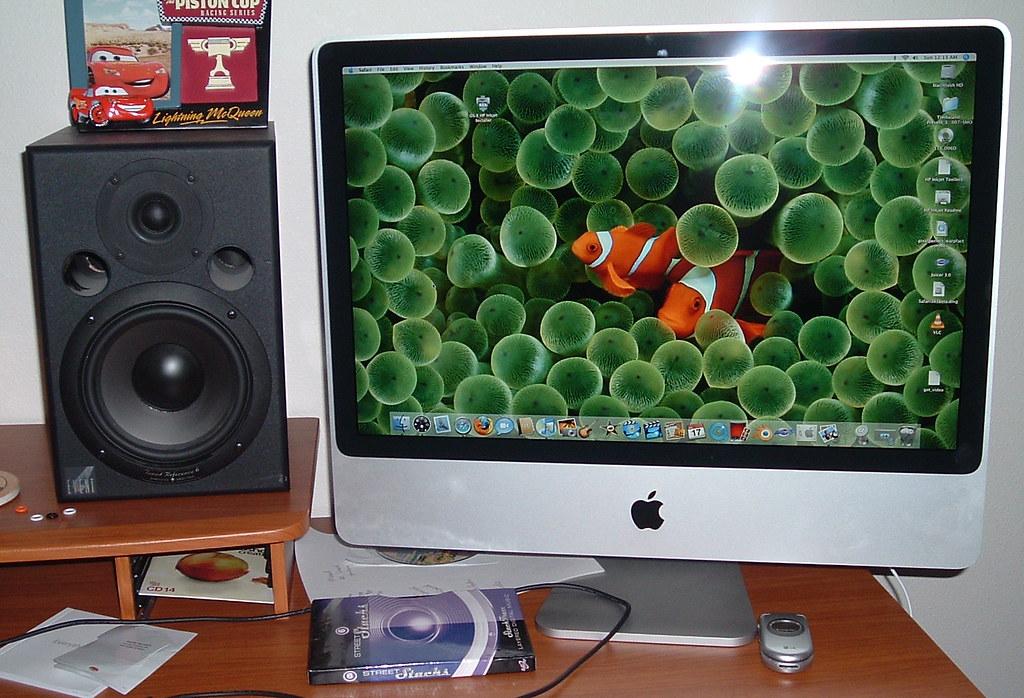 New iMac 24 inch aluminum