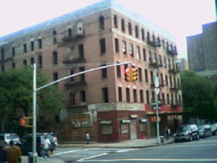 Harlem, empty building