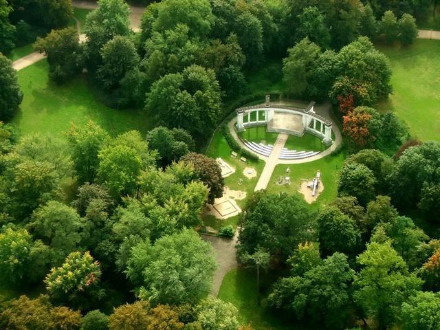 Amphitheatre in Poniatowski Park