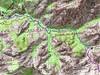 Carte de la région de Bonifatu de la Figarella à Carrozzu - Spasimata