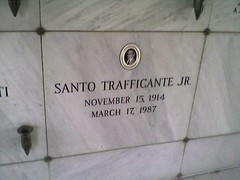 Santo Trafficante Jr. (larrynathaniel79) Tags: road street city boss columbus saint st tampa la gangster italian nebraska king boulevard silent traffic martin dale florida cemetary lounge central dream motel jr mob morocco drugs di donnie don waters marijuana ybor bosses kennedy mafia santo blvd rd cosa steakhouse mafioso patron cocaine bellas luther hillsborough mabry nostra sicilian brasco traffik trafficking unione erlich coso buffallo himes burnes sligh cappo cappi donatellos trafficante trafficker trafficer traffiick bearrs