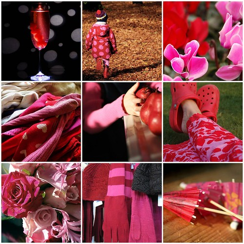 fav's from color+color: week 17 - pink+red