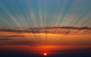 Sunset from Oia, Santorini