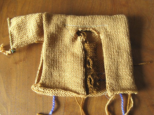 Technique Sample sweater
