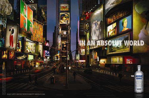 Absolut World - Times Square / yforyerom